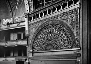 Chicago Auditorium Building, theatre detail