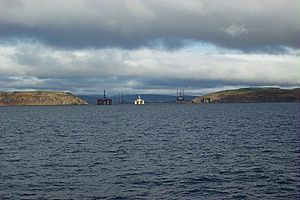 Cromarty Firth entrance