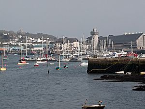 Falmouth Cornwall Harbour