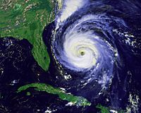 Hurricane Fran sept 1996