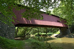 Kurtz's Mill Covered Bridge Side View 3008px.jpg