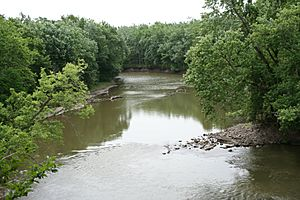 Sangamon River near Lincolns First Home in Illinois
