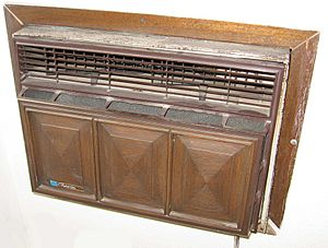 Single-room AC unit-internal