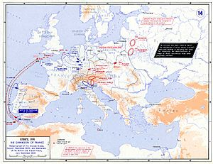 Strategic Situation of Europe 1805