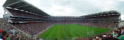 Croke Park from the Hill, 2004 All-Ireland Football Championship Final