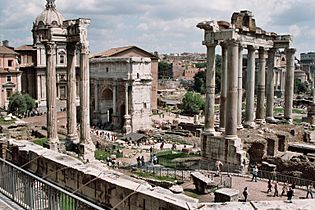Forum Romanum April 05