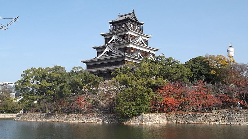 Keep tower of Hiroshima Castle 20121122, 000