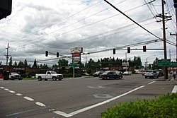 Beaverton-Hillsdale Highway and Scholls Ferry Road