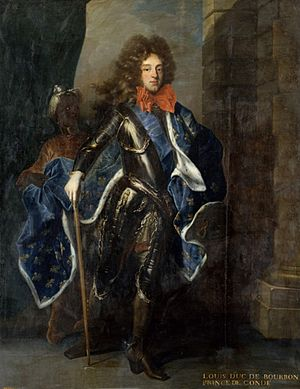 Undated copy of a painting of Louis, Prince of Condé after Hyacinthe Rigaud.jpg