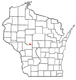 Location of Washburn, Wisconsin