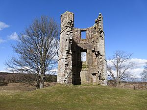 17thC tower, site of Douglas Castle