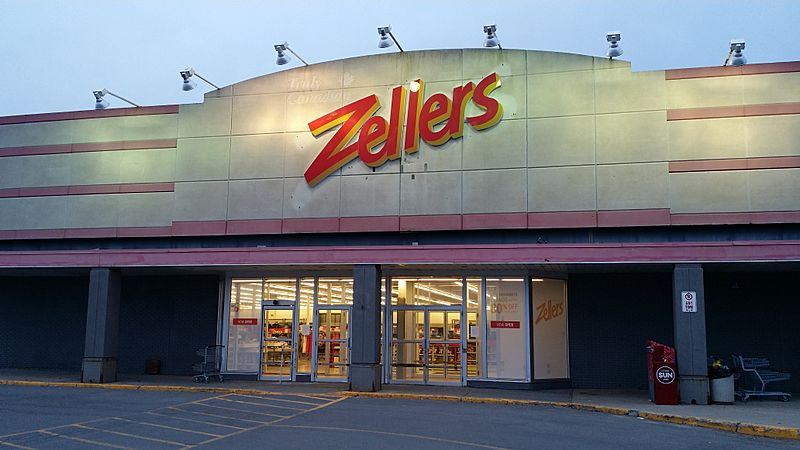 A re-opened Zellers store at Bells Corners in Ottawa