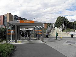 Brockley station eastern entrance 2012.JPG