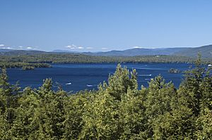Lake Winnipesaukee and the Ossipee Mountains