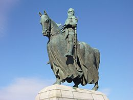 Robert the Bruce statue, Bannockburn - geograph.org.uk - 1538090