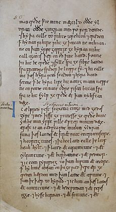 Will of Alfred the Great (New Minster Liber Vitae) - BL Stowe MS 944, f 30v