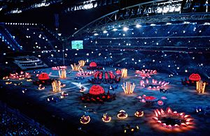 2000 Summer Olympics opening ceremony 1