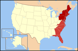 East Coast of the United States Facts for Kids