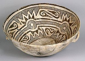 Bowl Chaco Culture NM USA