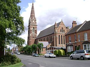 Church of St John the Baptist, Tachbrook Street, Leamington Spa - geograph.org.uk - 1416233