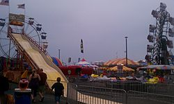 Crisfield Maryland Crab Derby Carnival