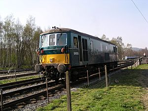 E6013 at Rowsley South