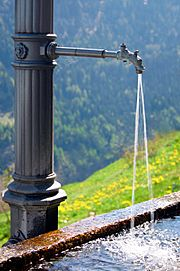 Fresh water fountain