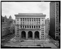 Main elevation (Grant St),looking east - City-County Building, 414 Grant Street, Pittsburgh, Allegheny County, PA HABS PA,2-PITBU,34-1