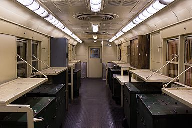 NYC money train interior
