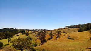 Quarry Road overlooking Yallourn North
