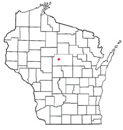 Location of Wien, Wisconsin