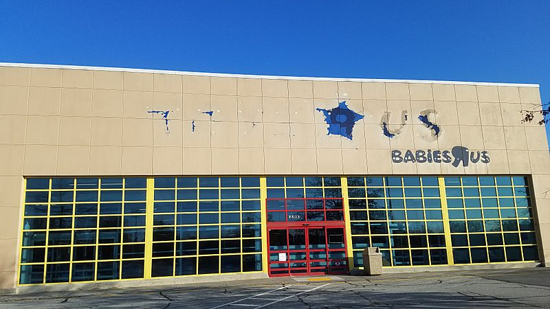 Abandoned Toys R Us in Winston-Salem, NC