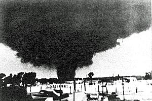 Erie Michigan 1953 tornado