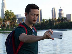 Joseph Gordon-Levitt LG V10 advertisement (cropped)