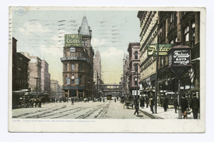 Junction of Main and Delaware Streets, Kansas City, Mo (NYPL b12647398-68704)f