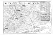 Kennecott Mines, ca. 1920 - Kennecott Copper Corporation, On Copper River and Northwestern Railroad, Kennicott, Valdez-Cordova Census Area, AK HAER AK,20-MCAR,1- (sheet 3 of 15)