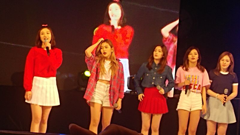 Red Velvet in Myongji University Festival 08