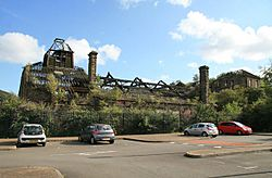 Remains of Yorkshire Imperial Metals Hafod Works, Landore - 3058971 15c2be51