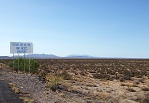 Sierra County NM - new mexico space port sign