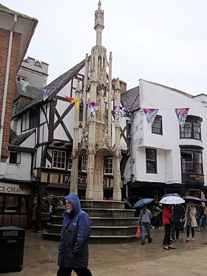 The Buttercross in Winchester