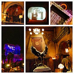 Tower of Terror Collage DCA Jan 2013