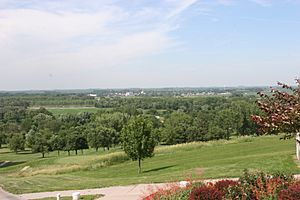 Beemer, Nebraska viewed from the Indian Trails Golf Course.