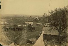 Charters Towers mining settlement ca 1890