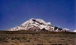 Chimborazo from southwest