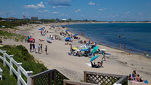 Crescent Beach Block Island July 2015