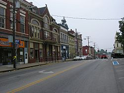 Main Street in Carlisle