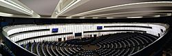 European Parliament, Plenar hall