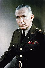 General George C. Marshall, official military photo, 1946