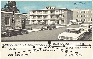 Heart of Newnan Motel, 25 LaGrange Street, Newnan, Georgia (8368126226)