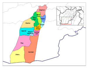 Helmand districts